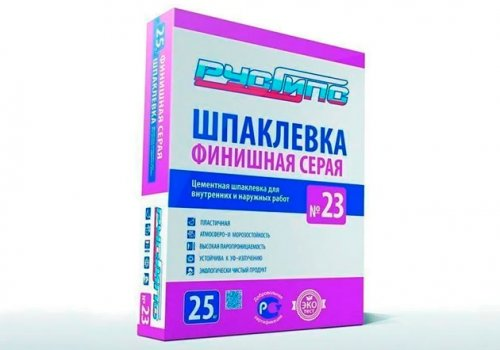 Разработанна рецептура Шпаклевки № 23