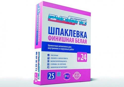Разработанна рецептура Шпаклевки № 24